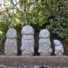 Kleine buddhistische Statuen