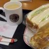 Letztes Fruehstueck beim Caffe Veloce