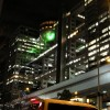 Fuji-TV-Studio bei Nacht