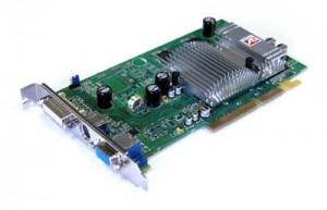 Abbildung der Grafikkarte ATI Radeon 9600